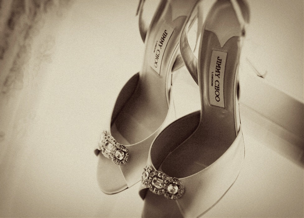 photoblog image Wedding shoes