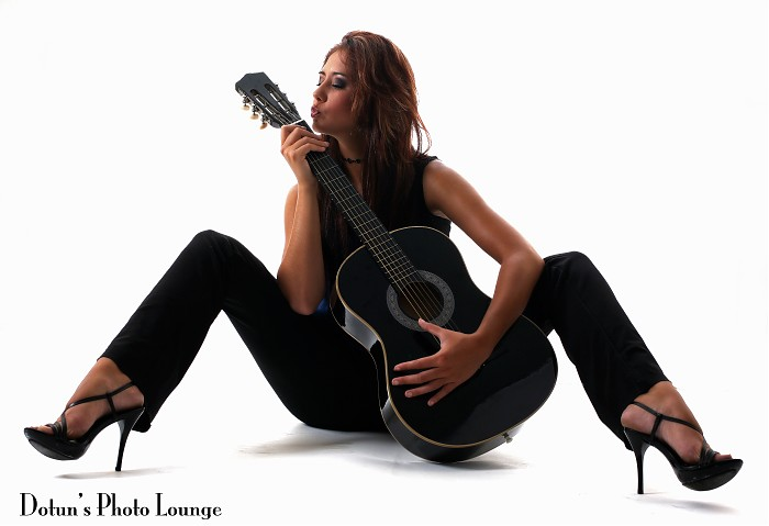 photoblog image Guitar shoot